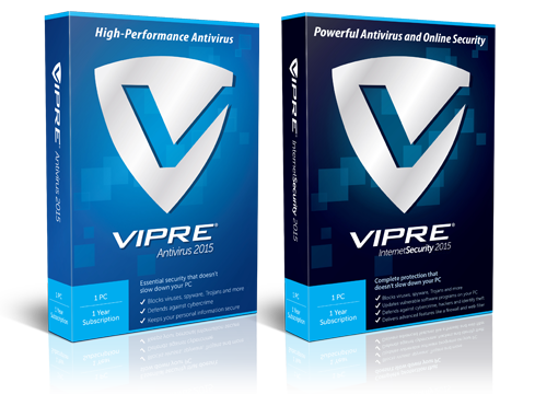 VIPRE Internet Security 2015 a VIPRE Antivirus 2015